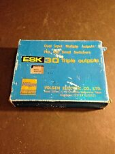 VOLGEN ESK30-1212 TRIPLE OUTPUT POWER SUPPLY (Can be used for VIDEOJET #207415)