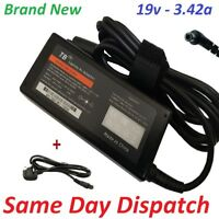 TOSHIBA PA3917U-1ACA 19V 3.42A 65W LAPTOP AC POWER SUPPLY CHARGER ADAPTER