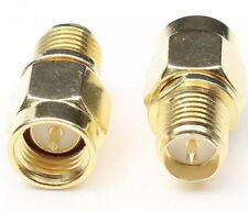 1 x SMA Male To RP-SMA Female connect SMA to RP-SMA RF Connector Adapter USA