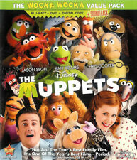 The Muppets ~ 3-Disc Combo Pack Blu-ray + DVD + Digital Copy ~ FREE Shipping USA