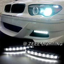 Euro 8 LED Daytime Running Light DRL Daylight Kit Fog Lamp Day Time Lights C06