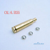 9mm./308WIN/.223REM Red Laser Bore sight Brass Caliber Cartridge Rifle For Rifle