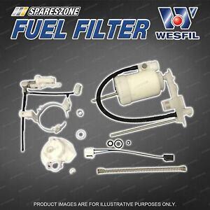 Wesfil Fuel Filter for Mazda CX-7 ER Petrol 4Cyl 2.3L Refer Z937 Premium Quality