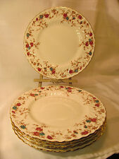 Minton England Fine Bone China ANCESTRAL Six (6) Dinner Plates REDUCED