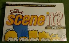 Simpsons Scene it?  DVD Game Mattel New Sealed Bart Lisa Homer Marge Maggie NIB