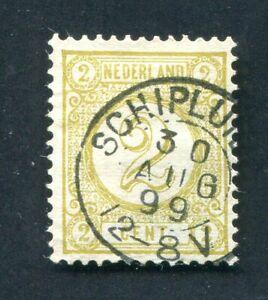 Nederland, frankeer nvph 32 a,  kleinrond Schipluiden ;
