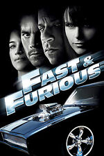 """The Fast and the Furious 6 Movie Poster Fabric Silk 24""""x36"""" Print Wall Decor 12"""