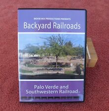 MOVIE MIX PRODUCTIONS - BACKYARD R.R. / PALO VERDE & SOUTHWESTERN G-SCALE LAYOUT