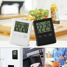Digital LCD Large Magnetic Kitchen Time Counter Cooking Alarm Run Magnet Timer