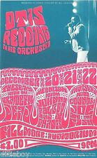 Otis Redding Grateful Dead BG 43  Concert Fillmore Handbill 1966