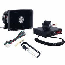 8 Töne Alarmanlage Notfallwarnung Horn Sirene Lautsprecher 200W für Polizei
