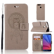 For Huawei Honor V9 Luxury Flip Leather Card Case Wallet Stand Cover Pouch