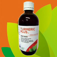 Turmeric Plus Liquid Dietary Supplement 200ml - Anti-Inflammatory Anti-Oxidant