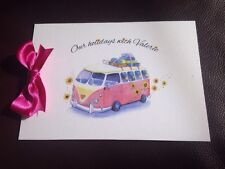 A5 30 page CAMPER VAN theme visitors comments TRAVEL journal book personal