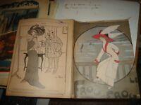 Las Frou Frou Revista Humorística Francés de 23/8/1909 Ilustrado y Hermosa