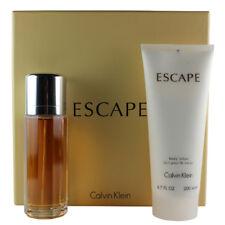 Escape by Calvin Klein Gift Set for Women EDP Spray 3.4 oz + 6.7 oz Body Lotion
