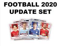 PANINI FOOTBALL 2020 UPDATE SET all 48 stickers Premier League
