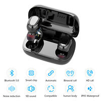 Bluetooth 5.0 Headset TWS Wireless Earphones Mini Ture Stereo Headphones Earbuds