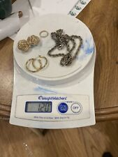 Lot Wearable 34g Untested 14k 10k Yellow White Gold