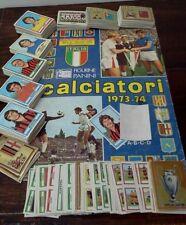 Mancoliste album figurine calciatori 1973/74 da recupero a soli €0,40
