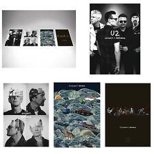 U2 Innocence + Experience 5 Silkscreen Print Posters ~ Exclusive U2 Fan Club Set