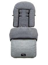 Valco Baby Snug Footmuff - Grey Marle