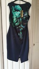 Coast Dawn Scuba Shift Dress Size 14