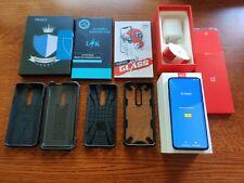 OnePlus 7 Pro - 256GB - Nebula Blue (12GB RAM) (Unlocked) Good shape Plus extras