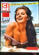 Ciné Télé Revue 5/2/1960; Claudia Cardinale/ Spécial Les plus belle filles du Ci