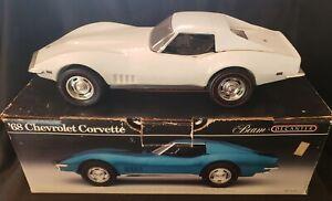 Jim Beam Decanter 1968 White Corvette
