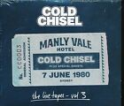 Cold Chisel Manly Vale Hotel Live Tape Volume 3 CD NEW 7 June 1980