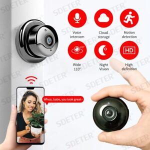 FLITO 1080P Caméra espion sécurité sans fil - Mini video surveillance WiFi