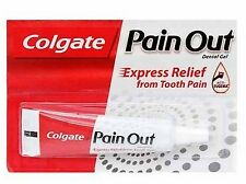 2 x Colgate Pain OUT Dental Gel 10 gm (0.33 Oz) Express Relief Tooth Pain