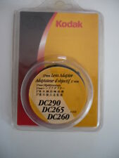 Kodak DC 260 265 290 37 mm lens Adaptateur Objectivement Attache NOS!
