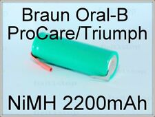 NEW Battery Braun OralB Pro Series 2200mAh Toothbrush Repair Type 3762 3764