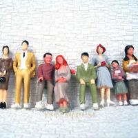 Lot de 24 PERSONNAGES 1:32 échelle G peint figurines