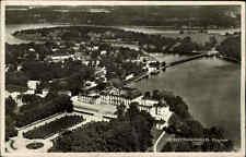 Slot Schloss Drottningholm Flygfoto Luftaufnahme Schweden Sverige Sweden ~1940