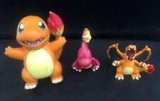 Pokemon Evolution Tomy Figures Charmander (1999) Charmeleon, CharizardC.G.T.S.J