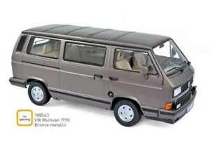 VW Volkswagen 1990 Multivan diecast model bronze metallic 1:18th NOREV 188543