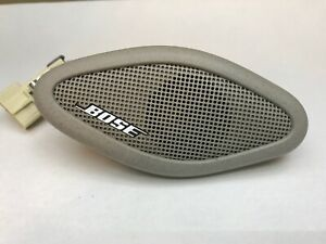07-13 Silverado Sierra Tahoe A Pillar Bose Tweeter Speaker Gray Passenger Side