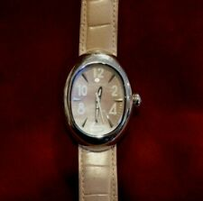 Vintage Locman Nuovo Pink Dial Stainless Steel Women's Watch Ref 0.20 Italy
