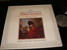 BACH°FLUTE SONATAS<>KARL RICHTER<>Lp Vinyl~Germany  Pressing~ARCHIV 2533 368