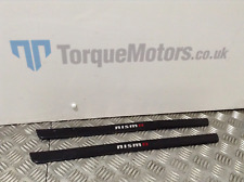 Nissan Juke Nismo Rs Door sill trims PAIR