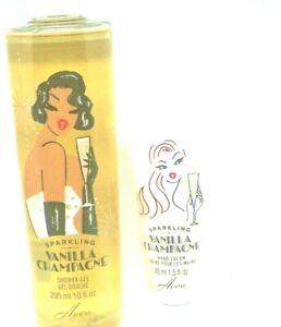 Avon Sparkling Vanilla Champagne Shower Gel, Hand Cream