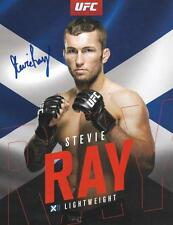 Stevie Ray UFC MMA signed 8,5x11 photo proof w/COA