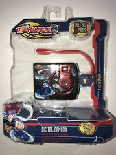NEW Beyblade Metal Fusion Digital Camera w/ Storm Pegasus Charm 17110 Toys R Us