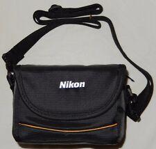 Nikon Coolpix Camera Fabric Case in Black for Coolpix P90 P100 P500 P510 NE