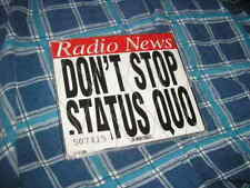 CD Rock Status Quo Don't Stop 3Song + PromoKit ACKLODE