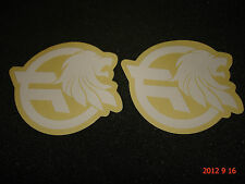 2 AUTHENTIC FEDERAL BMX BICYCLE FRAME STICKERS / DECALS #24 AUFKLEBER