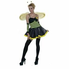 BUMBLE BEE FANCY DRESS COSTUME PERFECT FOR HEN PARTIES SIZE SMALL 8-10
